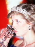 Princess Diana Visits Portugal at Banquet Hosted by the President