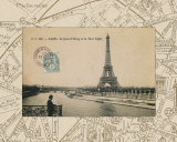 Destination Paris II Reproduction d'art par Hugo Wild