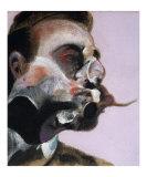 Study for a Portrait of George Dyer c1969 affiche tableaux par Francis Bacon