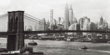 Lower Manhattan and the Brooklyn Bridge  c1937