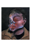 Self-Portrait with Injured Eye  c1972