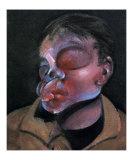 Autoportrait a l'Oeil Blesse  c1972