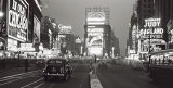 Times Square at Night  New York City  c1938