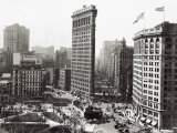 The Flatiron Building  New York City  c1916