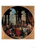 Banquet Under a Portico