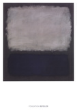 Blue & Gray, 1961 Reproduction d'art par Mark Rothko