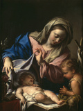 Madonna With Child and Saint John