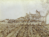 View of Saintes-Maries