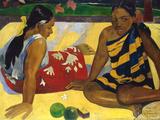 Two Tahiti Women