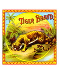 Tiger Brand Tobacco Label
