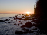 Sunset on the Pacific Northwest Coast of Vancouver Island