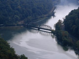 Railroad Bridge Over the New River  West Virginia