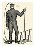 Diving Gear with suit and air pump