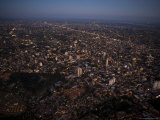 Capital City of Asuncion Glitters in the Fading Light of Dusk