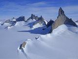 Mount Ulvetanna and Fenris Mountains