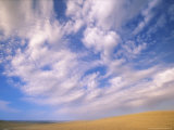 Cumulus Clouds Boiling Over a Wyoming Prairie in Late Summer