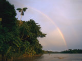 Rainbow over a South American River