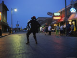 Dancing Starts Early on Memphis&#39; Famous Beale Street