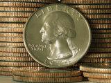 Close View of a Quarter