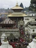 Pashupatinath Temple Near Kathmandu  Nepal
