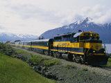 Alaskan Train  Anchorage