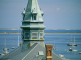 Provincetown Harbor with Town Hall in the Foreground