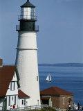 Portland Head Lighthouse on Cape Elizabeth