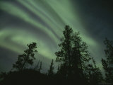 Brilliant Display of Aurorae in the Yukon Territory