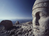 View of Nemrut Dag Archaeological Site