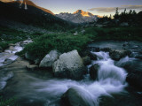 View of a Rushing Stream in Yosemite National Park