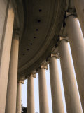 Columns Surround the Jefferson Statue at the Jefferson Memorial