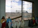 Souvenir-Filled Window of Jackrabbit Trading Post Frames Old Route 66