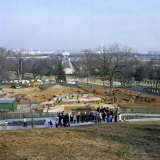 New Kennedy Gravesite Being Constructed Below the Original