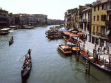 Grand Canal As Seen From the Rialto Bridge