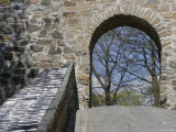 Rampart with Tiled Cap at Castle Fortress Akershus Festning