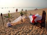 Dinner Setting for Two on Bang Niang Beach