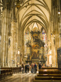 Tourists at Altar of Stephansdom