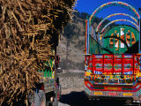 Decorated Trucks in Upper Swat