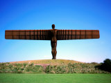 Giant Steel Structure of 'the Angel of the North