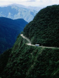 Bus Travelling the World's Most Dangerous Road