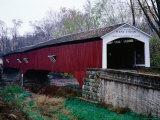 West Union Bridge  1876  Spanning 96 Metres over Sugar Creek  Longest Bridge in Parke County