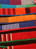 Brightly Coloured Hand-Loomed Fabrics at Barefoot  a Textile and Homewares Retailer