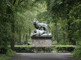 Lion Statue in Tiergarten