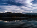 Annapurna Himal Reflected in Phewa Lake