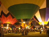 Balloon Glow Show at the Albuquerque International Balloon Fiesta