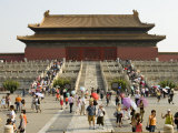 Summertime Crowds  Forbidden City  Dongcheng
