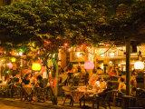 Bangkok Bar at Night  Near Kao San Road  Banglamphu