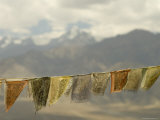 Prayer Flags and Namgyal Peak