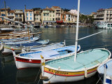 Boats Moored at the Fishing Port in Cassis