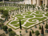 Geometric Patterns are a Feature of the Gardens at the Chateau De Versailles